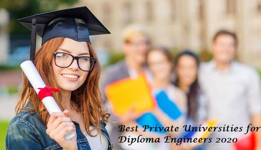 Top Private Universities 2020 for Diploma Engineers in Bangladesh