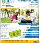 Private University Admission Circular