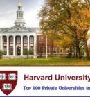 Harvard University-Best private universities in the United States 2020